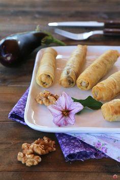 Patlıcanlı Girit Böreği – KitcheninRed  Sevgiyle Pişen Yemeklerin Mutfağı