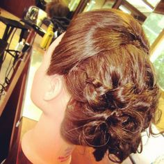 Prom updo I did in cosmetology school