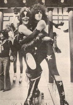 Peter Criss and Paul Stanley - KISS