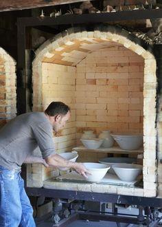 Pope Valley Pottery Kiln Loading