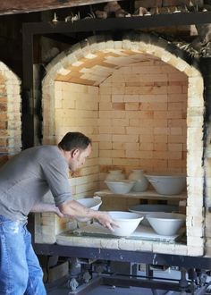 Pope Valley Pottery Kiln Loading