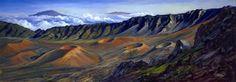 """""""Haleakala Rim"""" by Janet Spreiter at Maui Hands"""