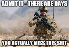 You can never measure the madness of a soldier during the war hour. He can easily sacrifice his life for defeating the enemies of our country.🇺🇸 Salute to the bold attitude! Soldier Quotes, Army Quotes, Marine Quotes, Military Jokes, Army Humor, Army Life, Military Life, Gi Joe, Doraemon