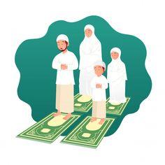 Family Illustration, Cute Illustration, Character Illustration, Mother In Islam, Couple Musulman, Poster Ramadhan, Cute Boy Pic, Love Cartoon Couple, Doraemon Cartoon