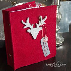 December Daily. Love the reindeer!