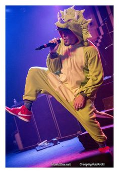 You may be cool, but you'll never be fred durst on stage in a Sarah triceratops onezie cool