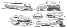 Volkswagen Torrenta 2040 Maglev Sports Vehicle by Ruoyu Chen