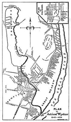 ancient windsor connecticut map - Google Search