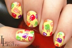 LacqLustre: Popsicle Nail Art