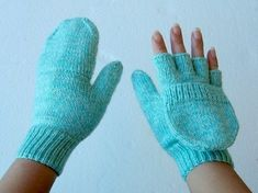 Free Knitting Patterns - Mittens and Gloves   BlogHer