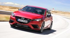 Mazda 3 MPS mockup