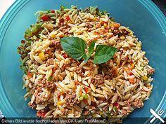 Kritharaki - Salat mit Hackfleisch (Rezept mit Bild) | Chefkoch.de