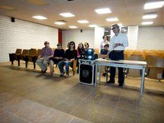 Entrega del Ixtli Portátil y taller a profesores