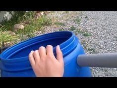 Diy Tank, Waterfall Fountain, Rain Barrel, Septic Tank, Water Treatment, Garden Hose, Plastic Bottles, Pond, Youtube