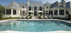 Mansion at Old Crystal Bay Road, French Country Manor, Keyword : Home, House, Mansion, French Style, Manor, Million Dollar Home, Beautiful, Pretty