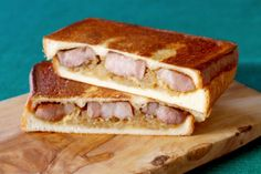 豚肩ロースのやわらか塩麹サンド