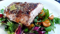 Lyndsay The Kitchen Witch: Blackened Sesame Tuna with Asian Greens