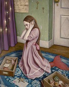 THE SEA SOUNDS | Shiori Matsumoto ノスタルジックな少女たちの世界を描く松本潮里の絵画作品集
