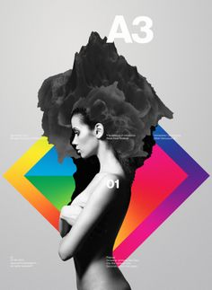 A3 Posters by Anthony Neil Dart, via Behance