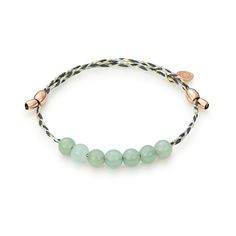 Jade is known as the great balancer. Revitalize your mind, body and soul with this Jade Precious Threads Bracelet from ALEX AND ANI!