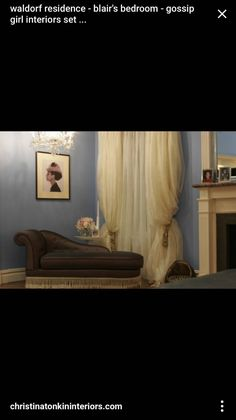 the sets on gossip girl - Blair Waldorfzimmer