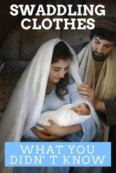 What You Didn't Know About Baby Jesus' Swaddling Clothes God and Jesus Christ Bible Topics, Bible Resources, Christmas Quotes, A Christmas Story, Christmas Ideas, Jesus Calling, Sunday School Lessons, Scripture Study, Baby Jesus