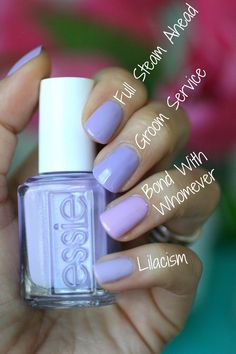 Best Nail Polish Colors of 2020 for a Trendy Manicure Love Nails, How To Do Nails, Fun Nails, Pretty Nails, Gradient Nails, Glitter Nails, Essie Nail Colors, Purple Nail Polish, Nail Polishes