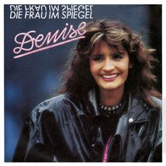 """""""Die Frau im Spiegel"""" Performer by Denise. Song from the national German final for Eurovision 1987. #PowerFrau #iLoveIt"""