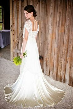 Catherine Deane Lita gown available at @BHLDN Weddings Weddings Weddings