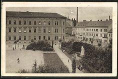 staré pohlednice z různých míst republiky