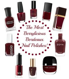 Looking for a beautiful Bordeaux nail polish? Pin & save these fab suggestions! #ad #ebay