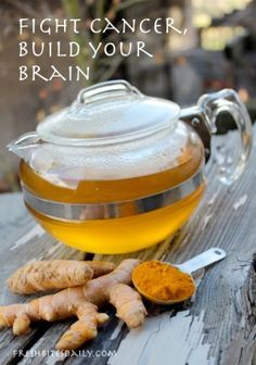 A Morning Warm-Up with Turmeric Tea, Fighting Cancer and Building Our Brains at the Same Time  | Turmeric benefits - Herbology and Herbalism