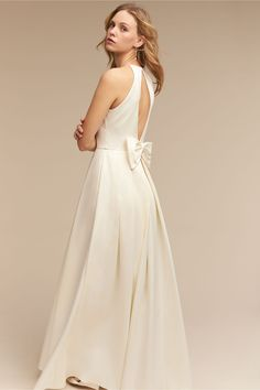 BHLDN Delancey Gown in  Bride Wedding Dresses   BHLDN