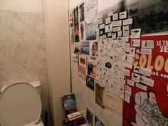 Le mur de savoirs inutiles indispensable dans un endroit vital par Manon B :-)