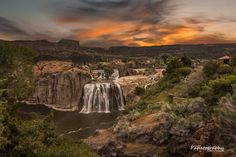 Shoshone Falls - Photo by Mitch Schreiber ~ Papatography