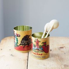 Set Of Two Chilli Storage Tins   Home Accessories   Graham