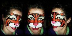 tigger face painting