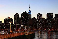 Nuevo, York, Ciudad, Horizonte, La Construcción De