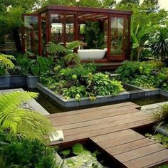 Backyard bathroom...