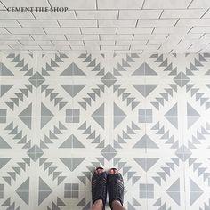Cement Tile Shop - Encaustic Cement Tile Tulum II