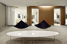 Lobby with Herman miller coconut chair