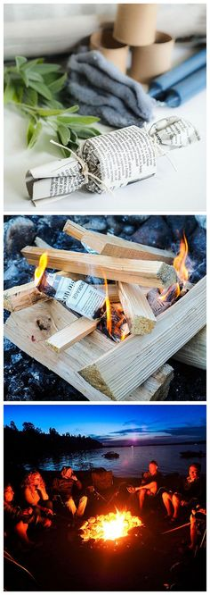 Easy DIY fire starter that gets your fire roaring instantly & cost almost nothing but your time. Perfect for camping, backpackers & home. DIY Ideas, Easy DIY