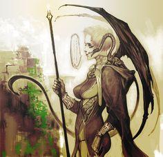 Dragon Woman120310 by ~masateru on deviantART
