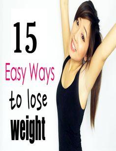 15 Ways To Lose Weight | Medi Tricks