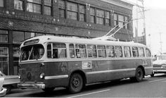 The bus, at that time, was a trolley bus, riding on big tires and powered by… - Century 2020 All Over The World, Around The Worlds, Snowy Weather, Bus Terminal, Bus Ride, Light Rail, Bus Stop, The Province, Training Plan