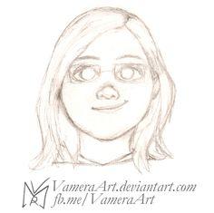 Vamera's Avatar v1.0 - Traditional Sketch by VameraArt.deviantart.com on @DeviantArt