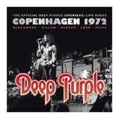 """L'album dei #DeepPurple intitolato """"Live in Denmark '72""""  in versione digipak edizione limitata."""