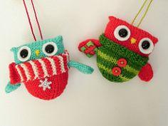 Ravelry: NoKnitSherlock's Owl be home for Christmas