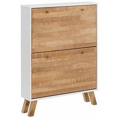 Home affaire Schuhschrank «Rondo», mit 2 Klappen, Breite 75 cm Shabby Look, Rondo, Credenza, Dresser, Cabinet, Storage, Inspiration, Furniture, Home Decor