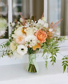 3-bouquet-roses-natural-peach-coral
